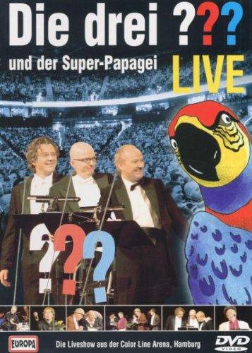 Beim DVD-Cover der Live-Aufführung des Super-Papageis ist Europa bei der Farbzuordnung gehörig ins Schleudern geraten.