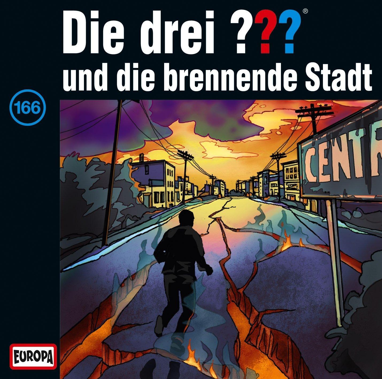 Die drei Fragezeichen und die brennende Stadt (166)