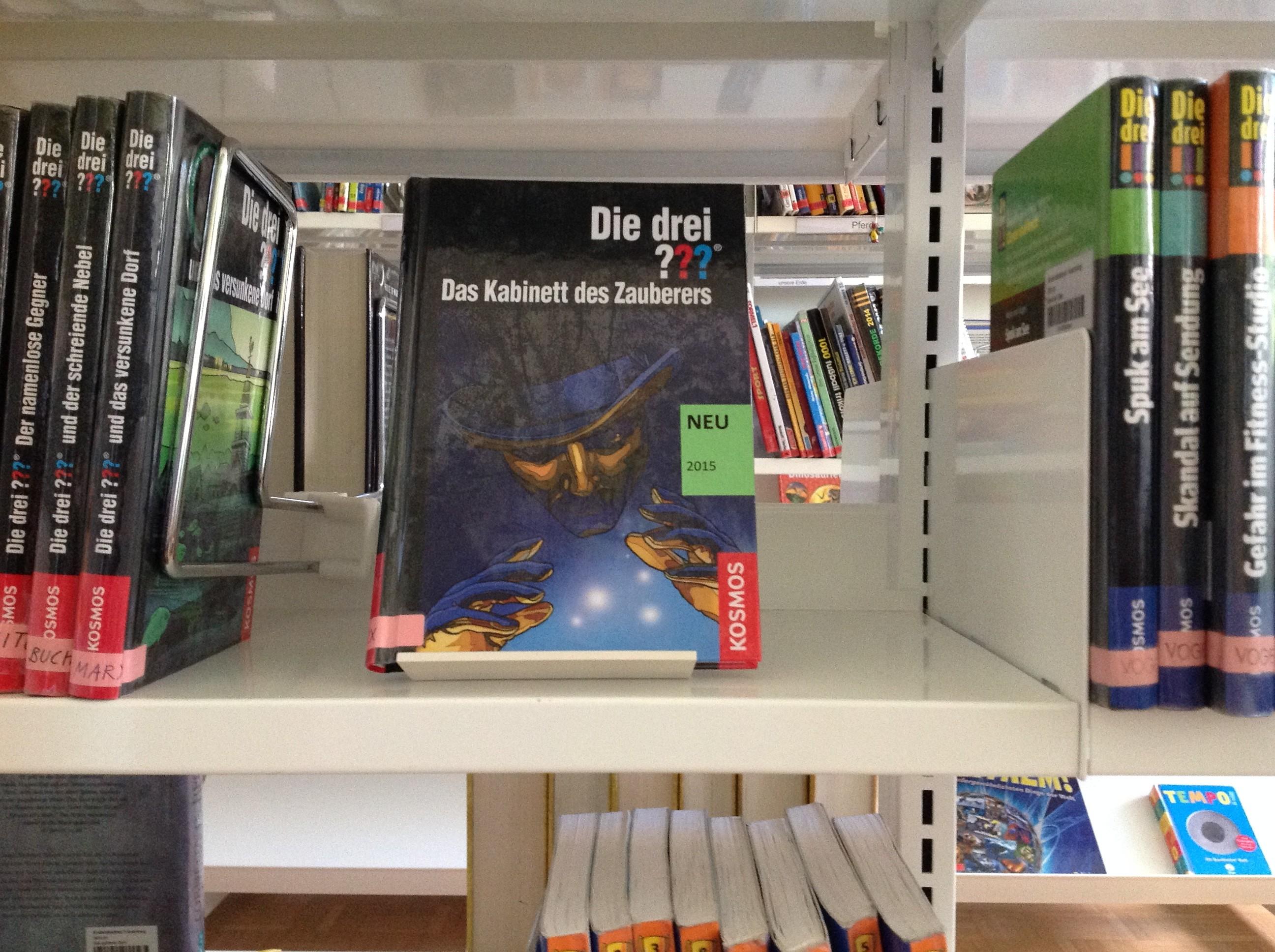 Die drei ??? – Das Kabinett des Zauberers. Ein Buch für Jungs und Mädchen.