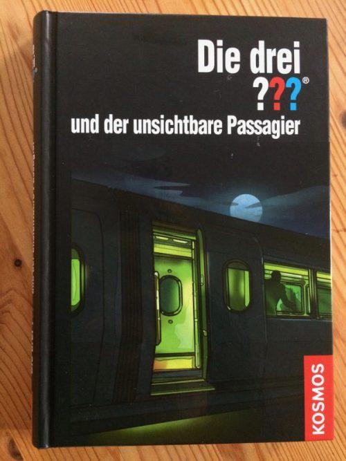 Die drei ??? und der unsichtbare Passagier – Titelbild