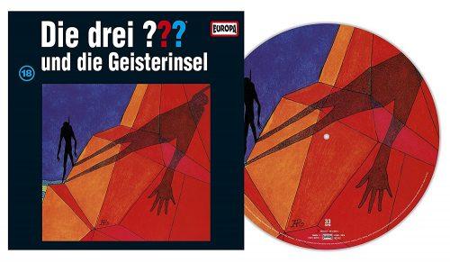 Darstellung der Pictury-Vinyl von Folge 18: Die drei ??? und die Geisterinsel